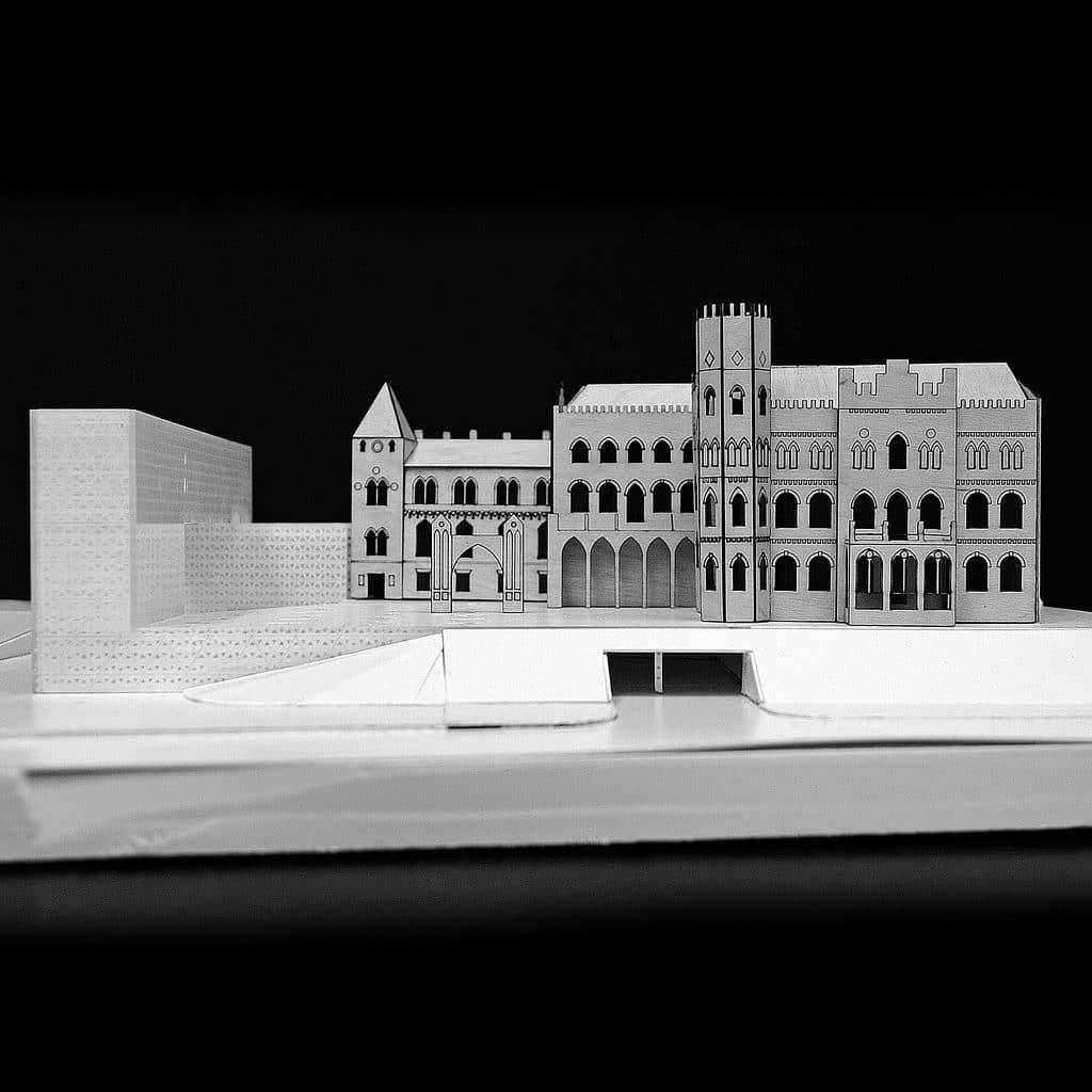 architekturiniu maketu pjaustymas ir gamyba